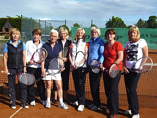 Damen 55. Bezirksliga